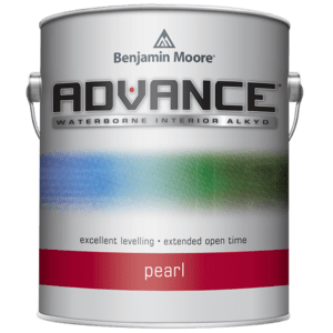 can of advance pearl paint
