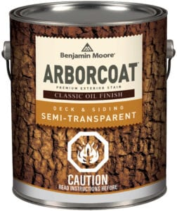 Can of Arborcoat stain