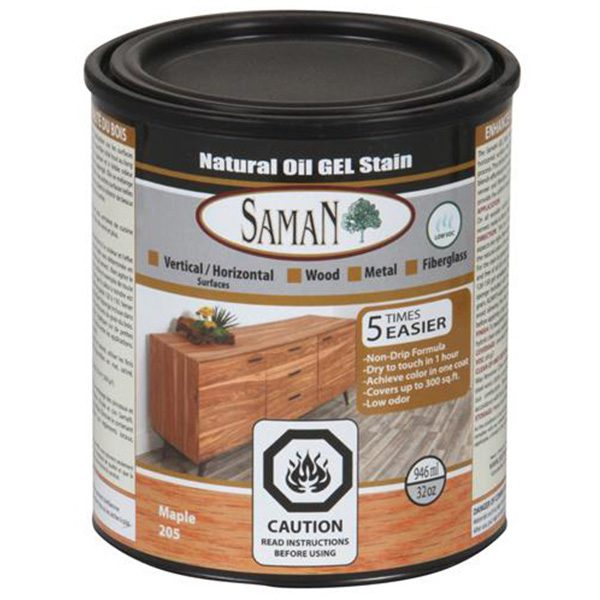 can of saman natural oil gel stain