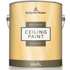 can of waterborne ceiling paint