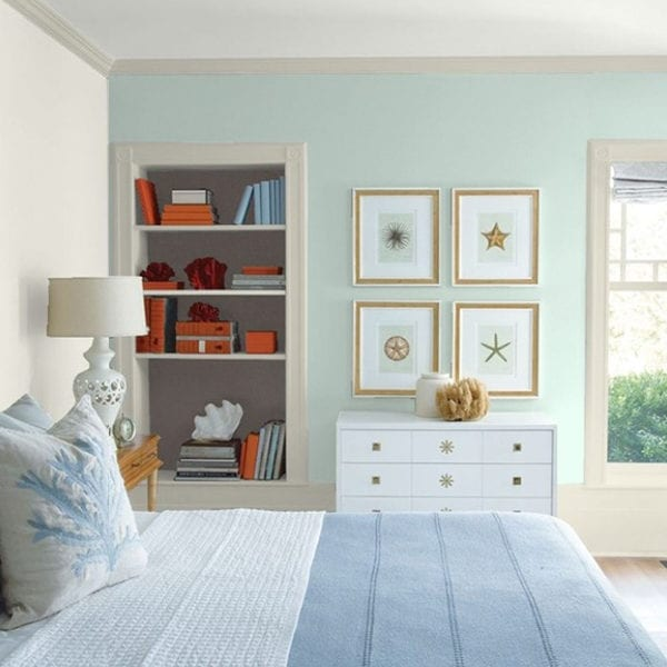 Tip: The amount of natural light in the room will determine the depth of your wall colour(s)