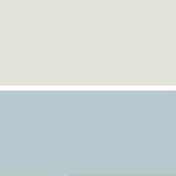 Wall Colors: Common: Soft Colors such as Classic Gray OC-23 and Accent Wall in Gossamer Blue 2123-40