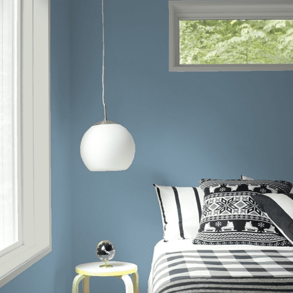 Tip: Select your paint colors in your room at the time of day that you are present there the most!
