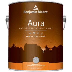 aura exterior paint can