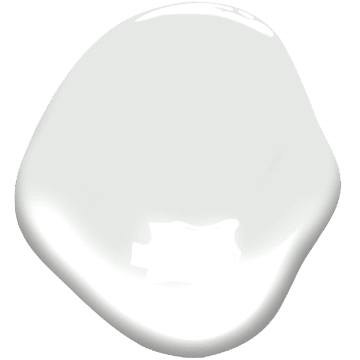 paint sample of pure white
