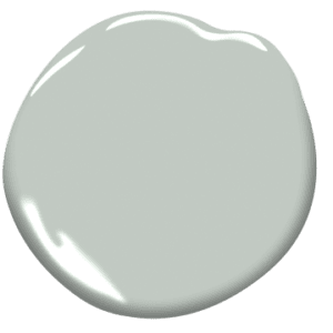 paint sample of silver marlin