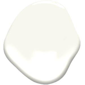 paint sample of simply white