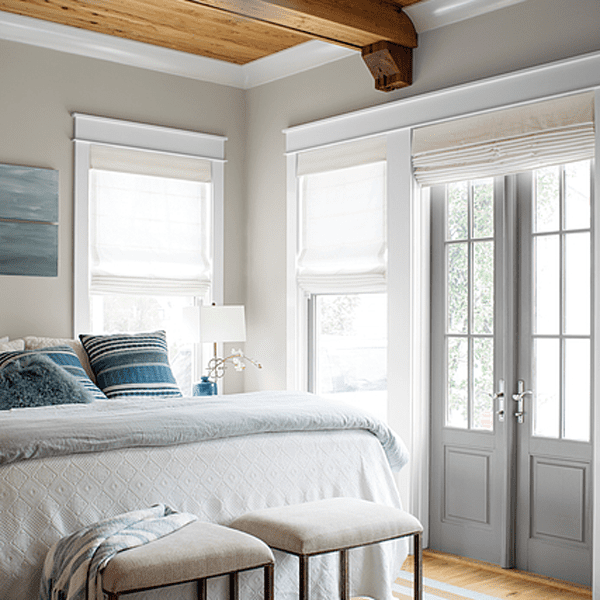 room with trim painted with pure white
