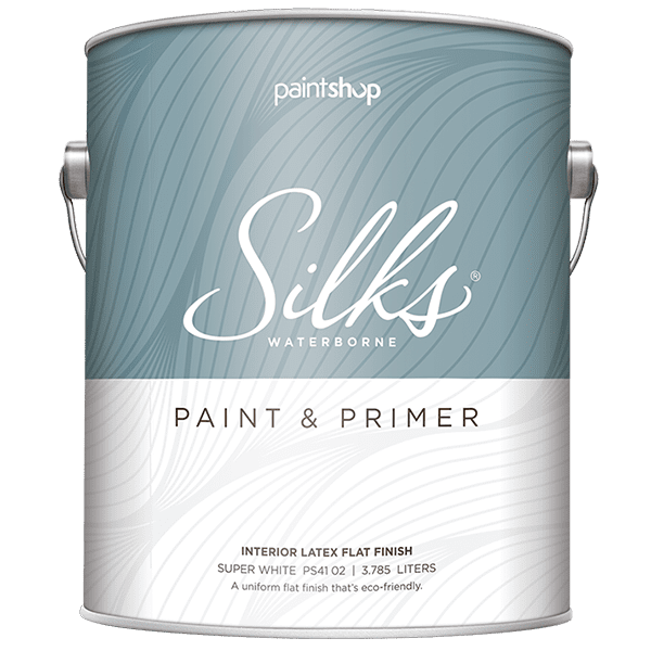 can of silks ceiling paint