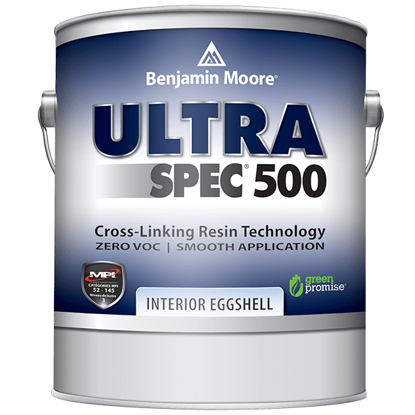 can of ultra spec 500 flat paint