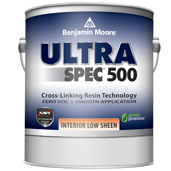 can of ultra spec low sheen ceiling paint