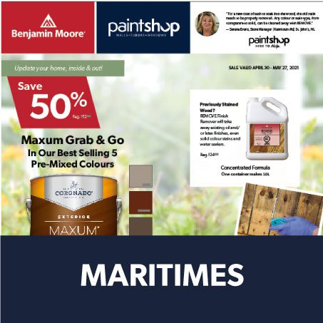Cover of Maritimes Flyer