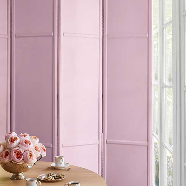 room divider painted in baby dreams