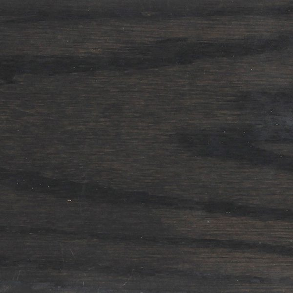 Stain sample of black