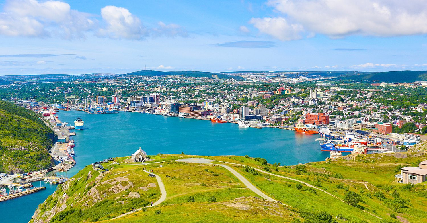 Hello from St. John's. Have we got a story for you.